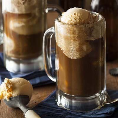 Root Beer Float has root beer